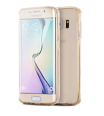 timeless design 949bb c3861 360 Degrees The Ultimate Protection TPU Soft Back Case for Samsung Galaxy  S6/S6 Edge/S6 Edge Plus/S7/S7 edge